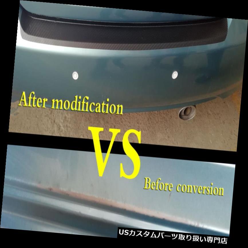 リアバンパー プロテクター ホンダアコード1ピース3Dカーボンファイバーステッカー車のトランクバンパー保護ストリップ用 for Honda Accord 1pcs 3D carbon fiber sticker car trunk bumper protection strip