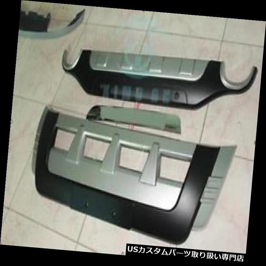 リアバンパー プロテクター スバルフォレスター2010-2013用1セットフロント&リアバンパープロテクターガードバー Fit For Subaru Forester 2010-2013 1set Front&Rear Bumper Protector Guards Bars