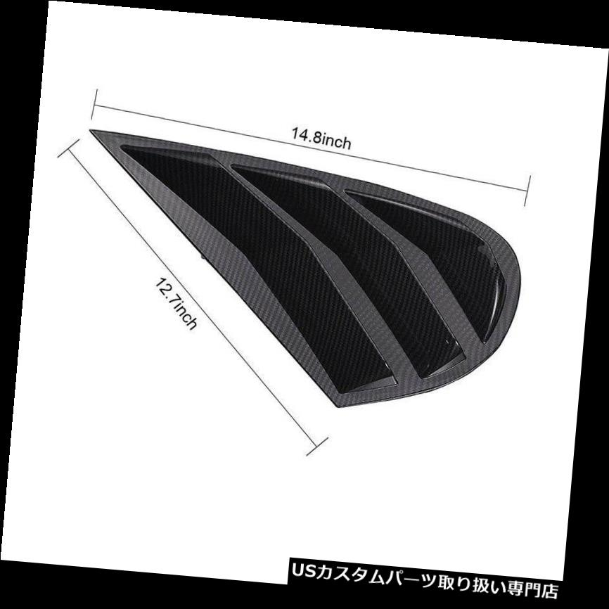 2x Real Carbon Fiber Side Mirror Cover Cap For LEXUS RX350 RX450H F-SPORT 16-17