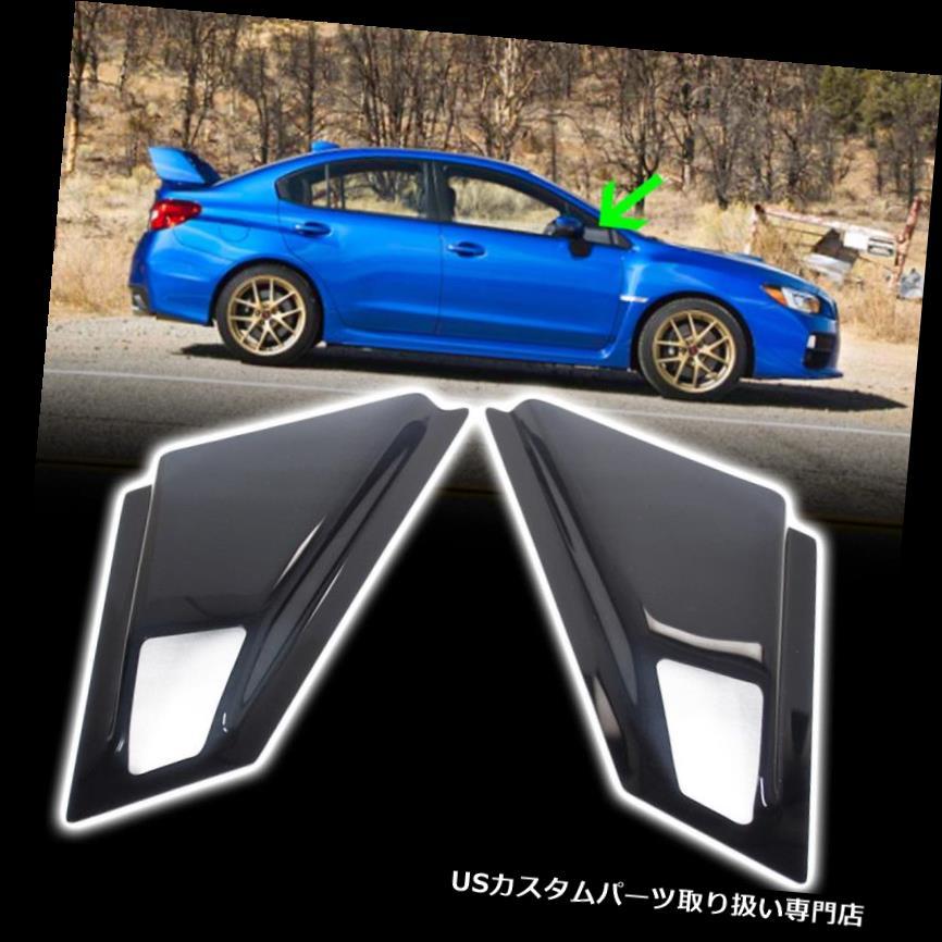 ウィンドウルーバー ファーストシップ?フィット2018スバルWRX STI 4th 4DRセダンサイドウィンドウルーバー2本 Fast Ship ~ Fit 2018 Subaru WRX STI 4th 4DR Sedan Side Window Louver 2Pcs