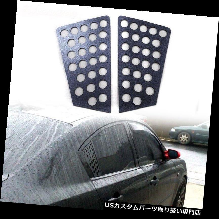 ウィンドウルーバー MAZDA 3 2010-2013のための未塗装後部窓ルーバーセダンGT GX GS-SKY UNPAINTED FOR MAZDA 3 2010-2013 REAR SIDE WINDOW LOUVER SEDAN GT GX GS-SKY