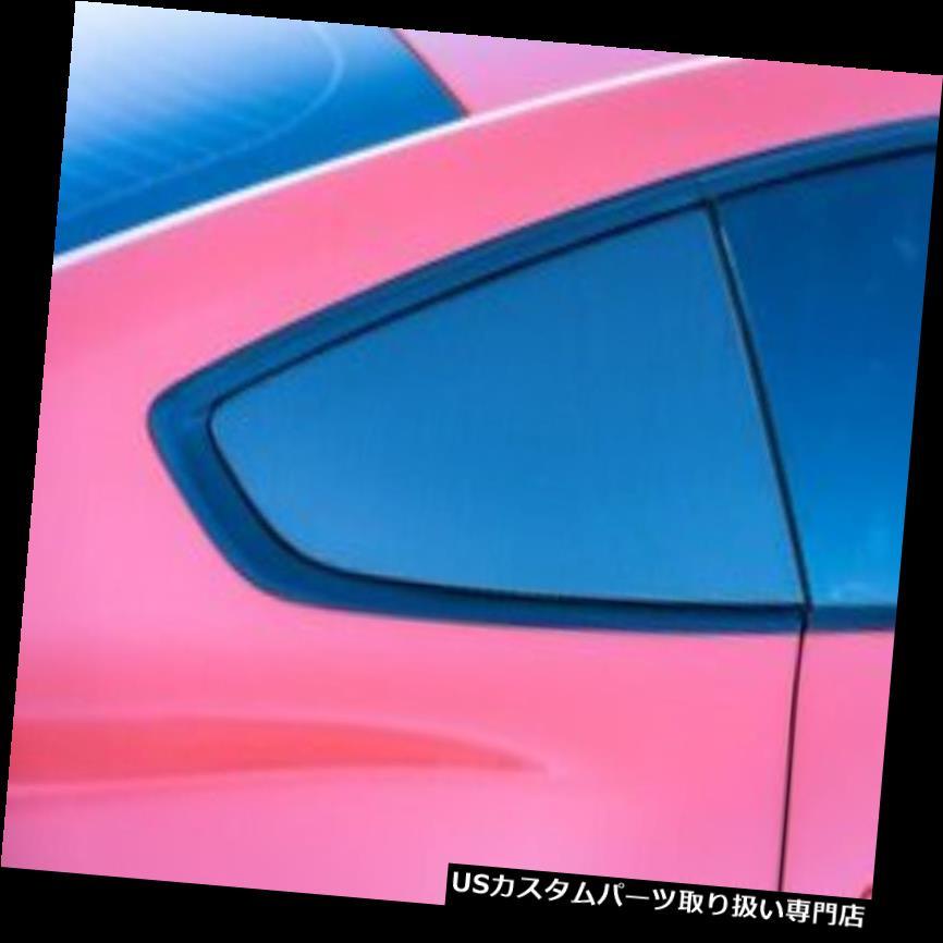ウィンドウルーバー 15-19フォードマスタングTru-CarbonファイバーLG332クォーターウィンドウルーバー! TC10026-LG332 15-19 Ford Mustang Tru-Carbon Fiber LG332 Quarter Window Louvers!! TC10026-LG332