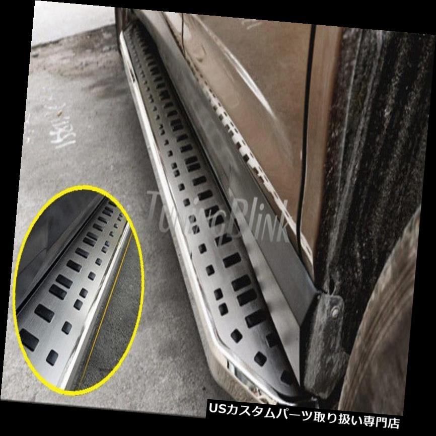 【おしゃれ】 サイドステップ サイドフットステップランニングボードNerfバー(フィット:Toyota Kluger Highlander 2014-17) Side Foot Step Running Board Nerf Bar (fit:Toyota Kluger Highlander 2014-17), ユクハシシ fe17e7c8