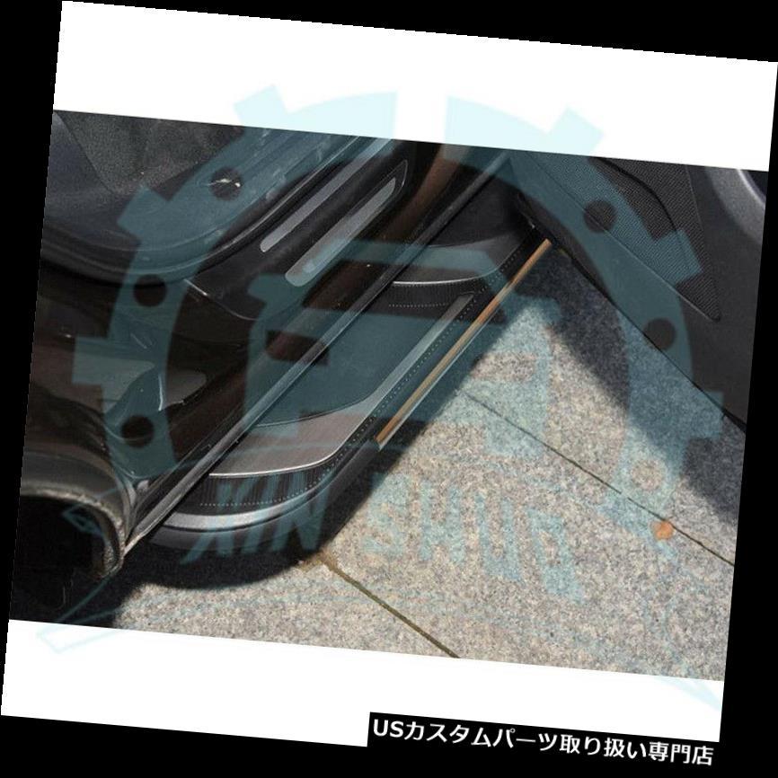サイドステップ CADILLAC XT 5 2016-2019 B用固定ドアランニングボードサイドステップナーフバー Fixed Door Running Board Side Step Nerf Bar for CADILAC XT5 2016-2019 B