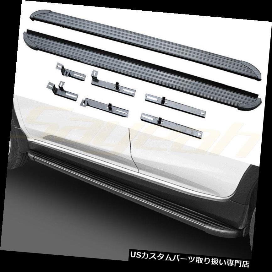 サイドステップ スバルXV 2018プラットフォームIboard 2 PCS用ランニングボードサイドステップ Running Board Side Step for Subaru XV 2018 Platform Iboard 2 PCS