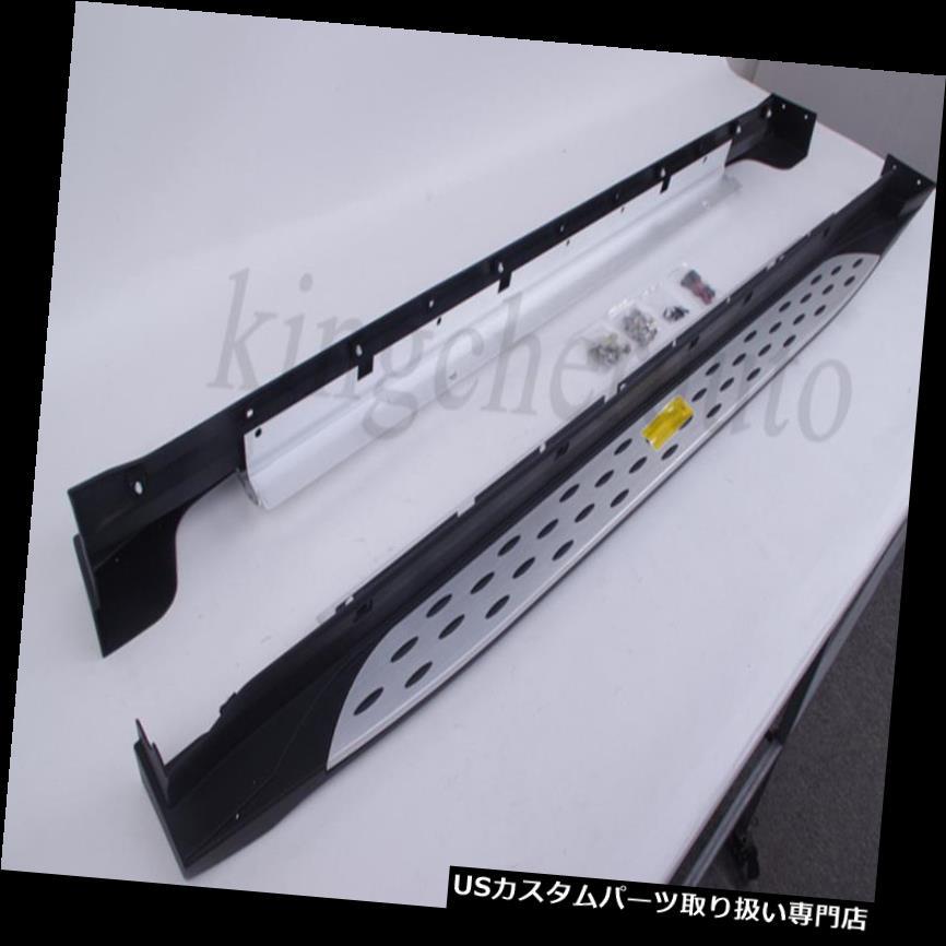 サイドステップ 現代のサンタフェXL 2018 2019ランニングボードサイドステップのニュークバーにフィット fits for Hyundai Santa Fe XL 2018 2019 running board side step nerf bar