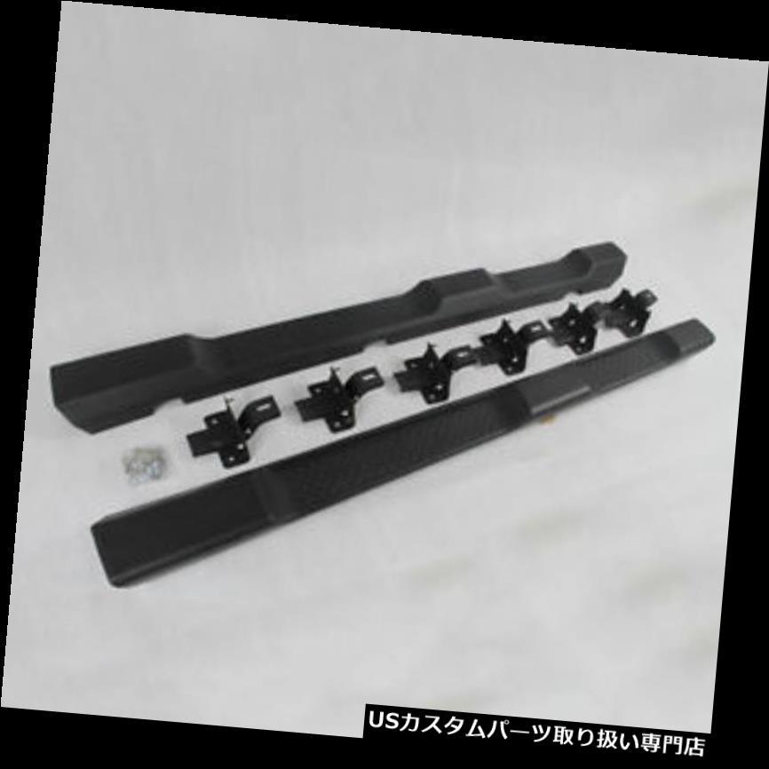 サイドステップ ジープラングラーJK 07+ 4ドアブラックNerfバー用サイドステップランニングボードフィット Side Step Running Board Fit For Jeep Wrangler JK 07+ 4 door black Nerf Bar