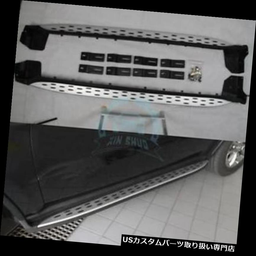サイドステップ JEEP Grand Cherokee 2011-16用アルミランニングボードサイドステップNerfバーフィット Aluminium Running Board Side Step Nerf Bar Fit for JEEP Grand Cherokee 2011-16