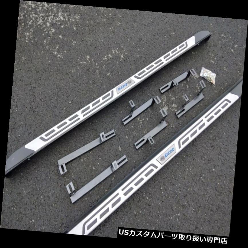 サイドステップ ヒュンダイコナ2018 2019アルミランニングボードサイドステップナフバー用2本入り 2Pcs Fits for Hyundai Kona 2018 2019 Aluminium Running Board Side Step Nerf Bars