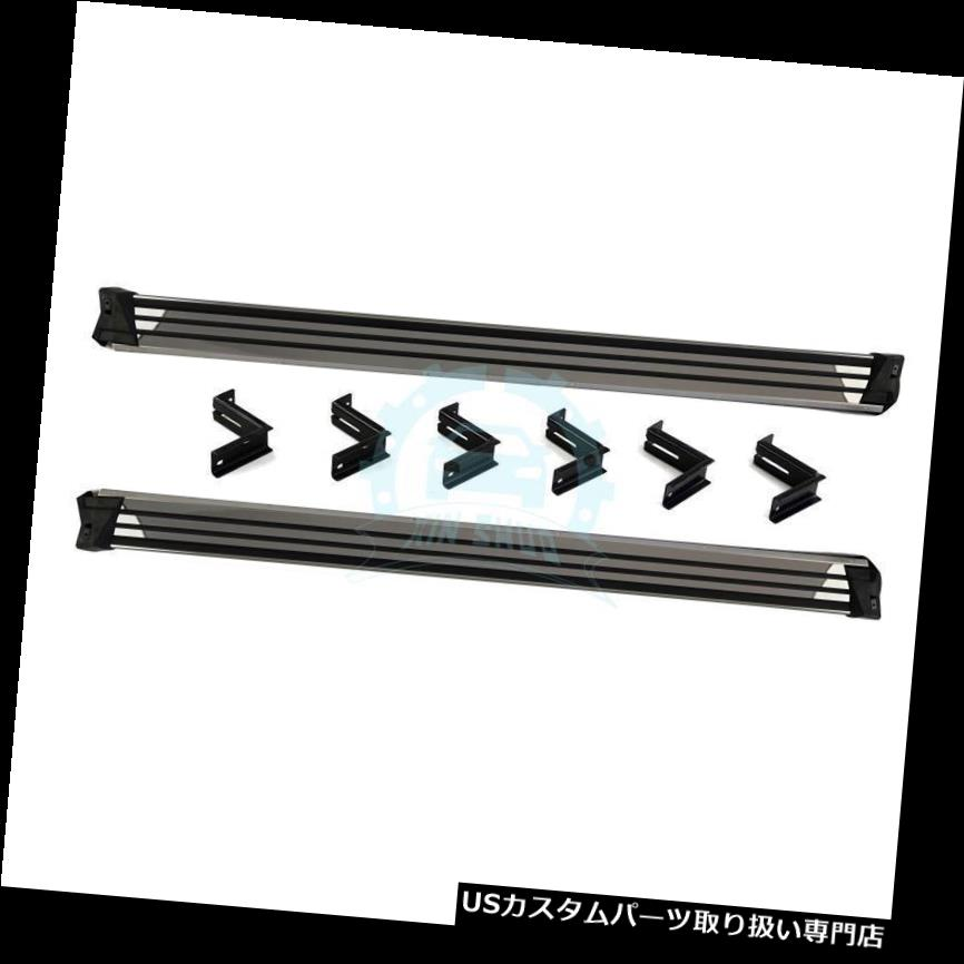 サイドステップ ランニングボードサイドステップバーNerfバーBenz GクラスG400 / G500 / G55 /  G63用 Cars Running Board Side Step Bars Nerf Bars For Benz G-class G400/G500/G55/G63