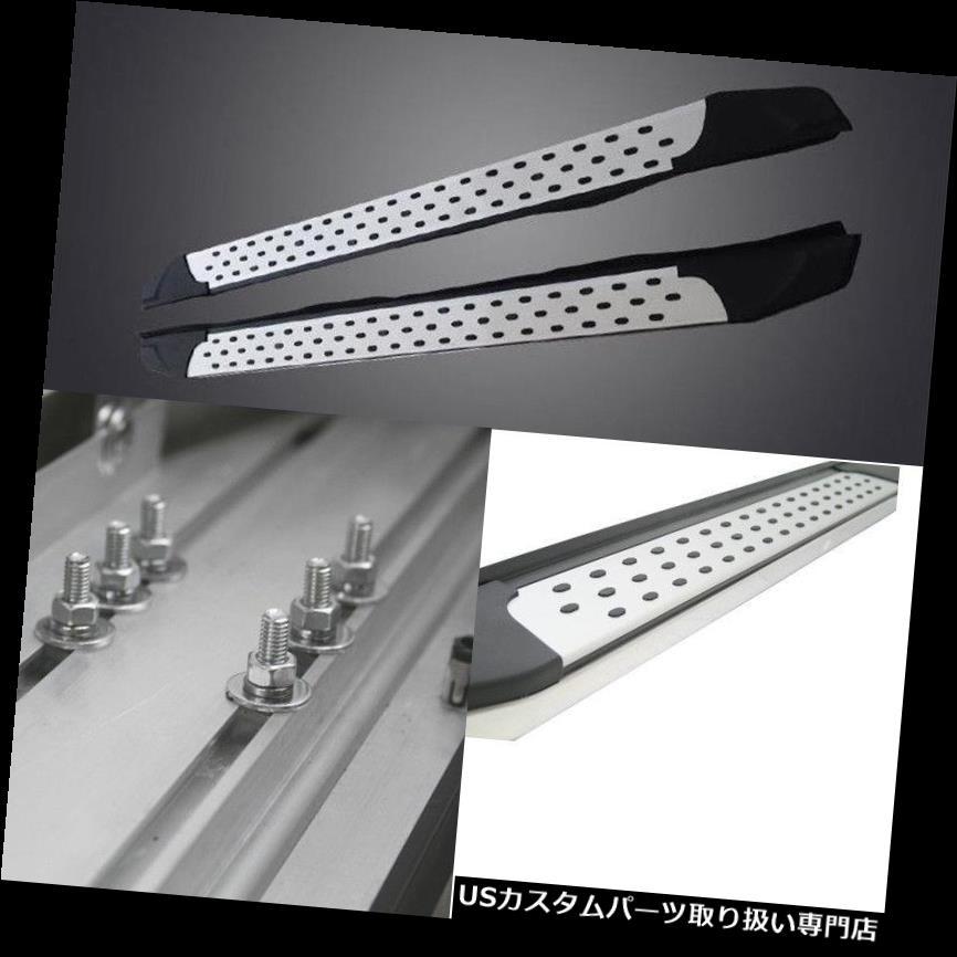 サイドステップ 三菱Outlander 13-16のためのアルミニウムランニングボードのステップボードの側面のペダル Aluminum Running Board Step Board Side Pedal For Mitsubishi Outlander 13-16