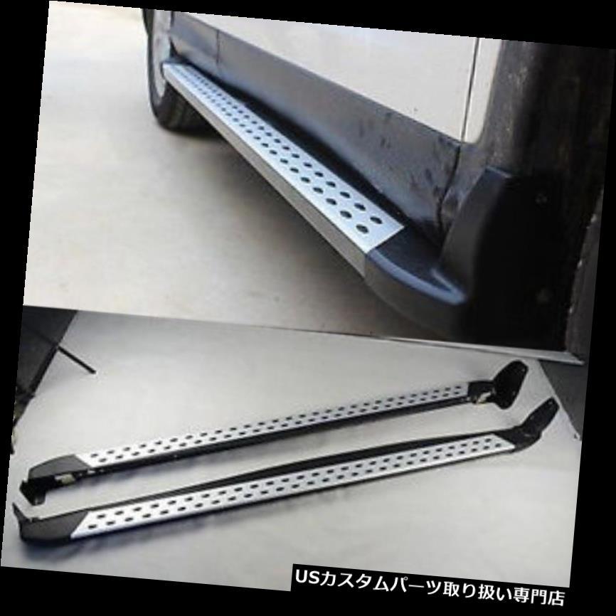 サイドステップ ホンダCRV CR-V 2012-16アルミ合金足ランニングボードサイドステップナフバー用 For Honda CRV CR-V 2012-16 Aluminium Alloy Foot Running Board Side Step Nerf Bar