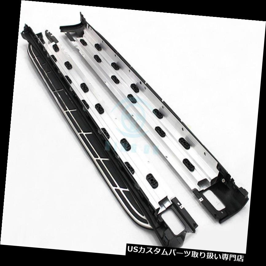 サイドステップ Porsche Cayenne 2011-17ステンレス鋼ランニングボードサイドステップNerfボード用 For Porsche Cayenne 2011-17 Stainless Steel Running Board Side Step Nerf Boards