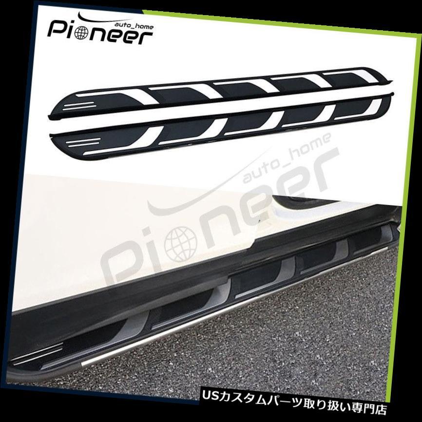 サイドステップ フィットシボレーシボレーすべて新しいEquinox 2018サイドステップランニングボードNerfバー Fit Chevrolet Chevy All New Equinox 2018 Side Step Running Board Nerf Bar
