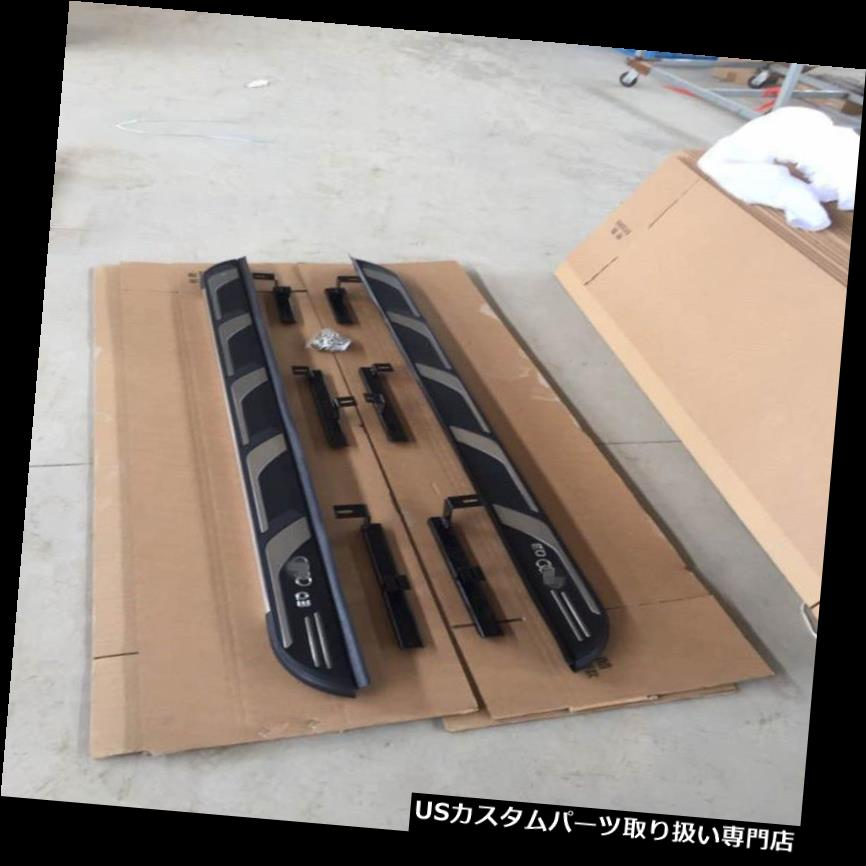 サイドステップ AUDI Q3 2012-2019ランニングボードNerfバーアルミキャリア用サイドステップフィット Side Step fit for AUDI Q3 2012-2019 Running Board Nerf Bar Aluminum Carrier
