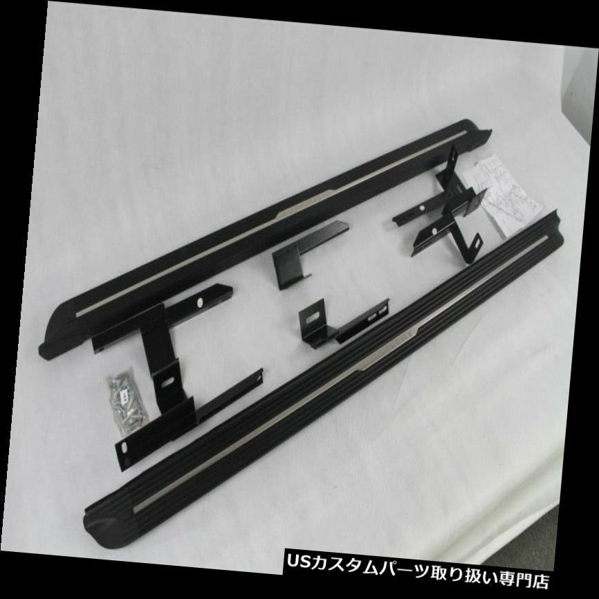 サイドステップ ランドローバーディスカバリーLR3 LR4 2004-2016ランニングボードサイドステップナーフバー用 fit For Land Rover Discovery LR3 LR4 2004-2016 running board side step Nerf bar