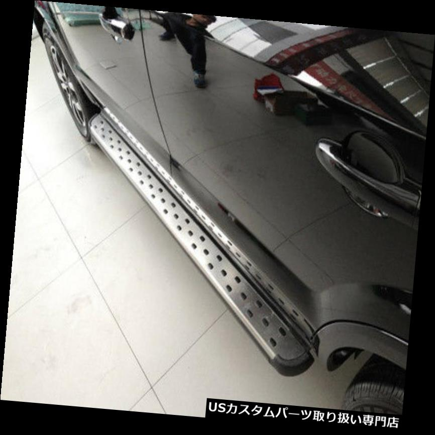 サイドステップ Audi Q7 2012 2013 2013 2014 2015ランニングボードサイドステップネフバー用ステンレス鋼 Stainless steel For Audi Q7 2012 2013 2014 2015 running board side step nerf bar