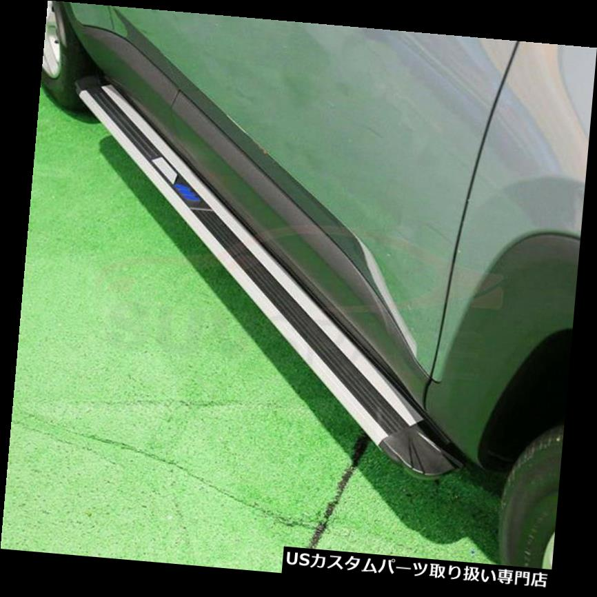New 2015-2018ランニングボードNerf 2015-2018 Jeep サイドステップ Board for Bar用の新しいデザインサイドステップフィット Running Renegade Side Step Renegade Bar Nerf Jeep Design Fit