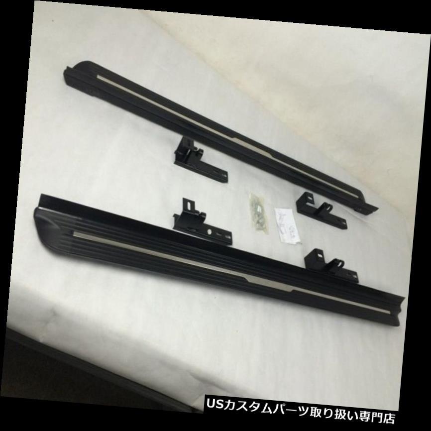 サイドステップ Mazda CX-5 CX5 2012-2016アルミデザインランニングボードサイドステップNerfバー fit Mazda CX-5 CX5 2012-2016 aluminium design running board side step Nerf bar