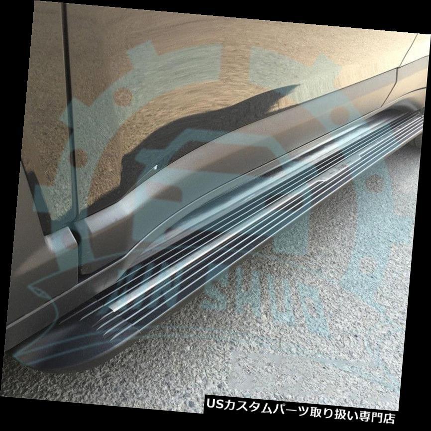 サイドステップ フォルクスワーゲンVW Touareg 2011-2017用ドアサイドステップランニングボードNerf Bar B for Volkswagen VW Touareg 2011-2017 Door Side Step Running Boards Nerf Bar B