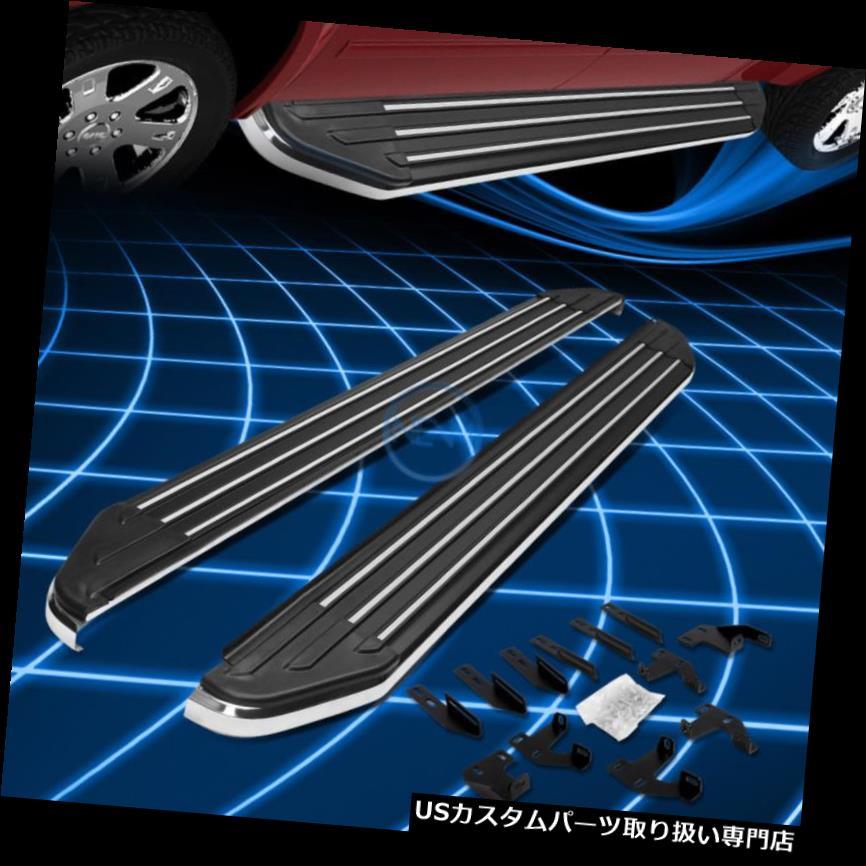 サイドステップ 2009-2015年ホンダパイロットYF3 / YF4のためのアルミニウムランニングボードサイドアシストステップバー Aluminum Running Board Side Assist Step Bar for 2009-2015 Honda Pilot YF3/YF4