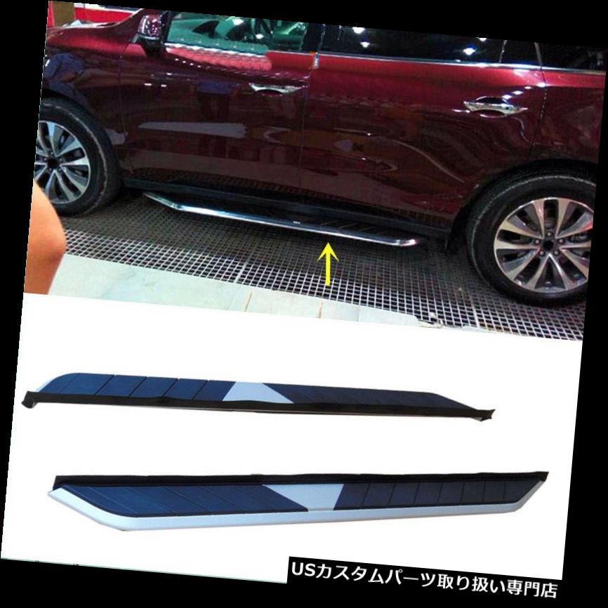 サイドステップ Acura RDX 2014-16 Aペアオートサイドペダルナーフバーステップボードフットボード For Acura RDX 2014-16 A Pair Auto Side Pedal Nerf Bars Step Board Foot Board