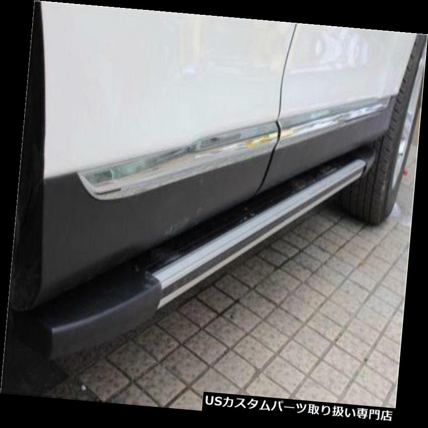 サイドステップ Toyota Highlander 2012 2013サイドステップランニングボードNerfバー用の新しいアルミ new aluminum for Toyota Highlander 2012 2013 side step running board Nerf bar