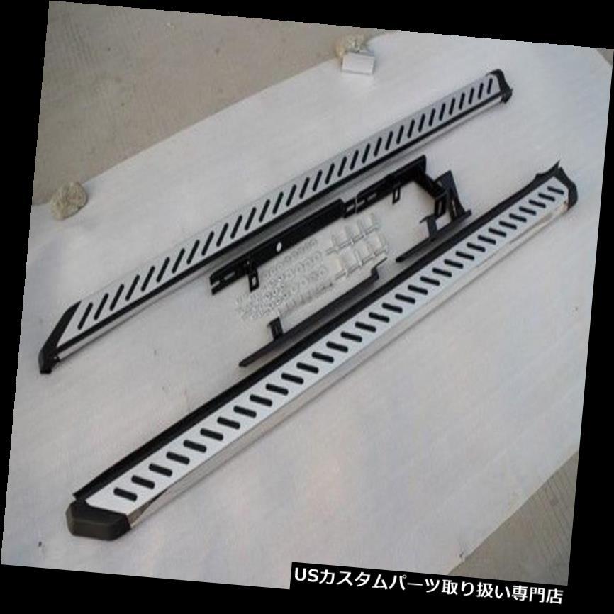 サイドステップ ヒュンダイMaxcruzサンタフェ2013-18新しいデザインランニングボードサイドステップnerfバー fit Hyundai Maxcruz Santa Fe 2013-18 new design running board side step nerf bar