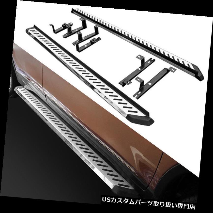 サイドステップ 日産エクストレイルローグ2014-2017プラットフォーム用Nerfバーランニングボードサイドステップ Nerf Bar Running Board Side Step for Nissan X-Trail Rogue 2014-2017 Platform