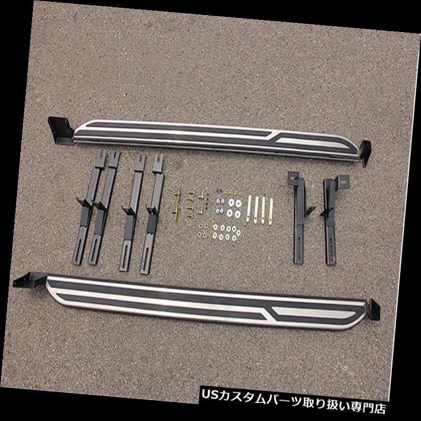 サイドステップ Mazda CX-5 2017 2018サイドステップNerfバープラットフォームランニングボードにフィット Fit for Mazda CX-5 2017 2018 Side Step Nerf Bar Platform Running Board