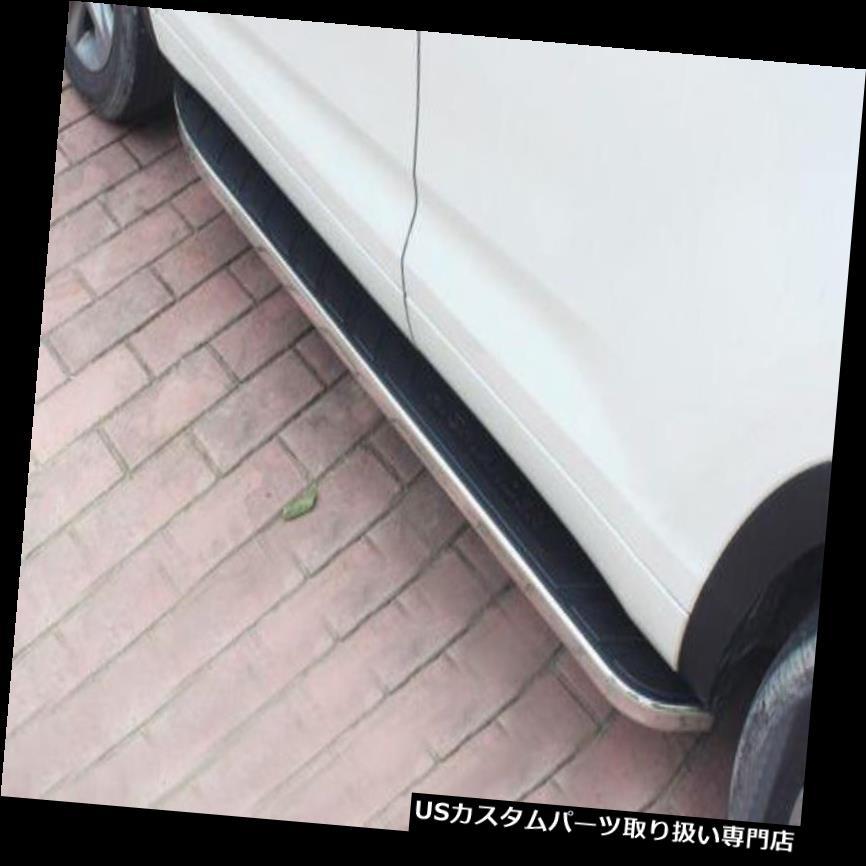 サイドステップ トヨタハイランダークルーガー2014-17新しいスタイルサイドステップランニングボードNerf N用 For Toyota Highlander Kluger 2014-17 new style side step running board Nerf N