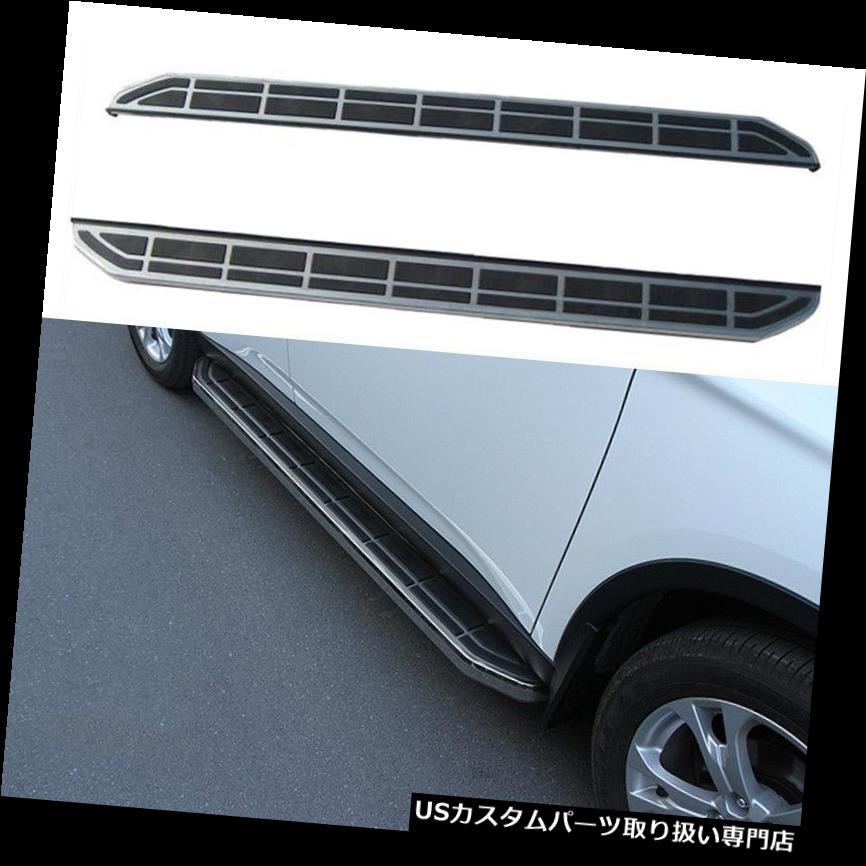 サイドステップ 三菱Outlander 2013-16のための2PCSサイドステップセットランニングボードNerfバー車 2PCS Side Step Set Running Board Nerf Bar Car For Mitsubishi Outlander 2013-16