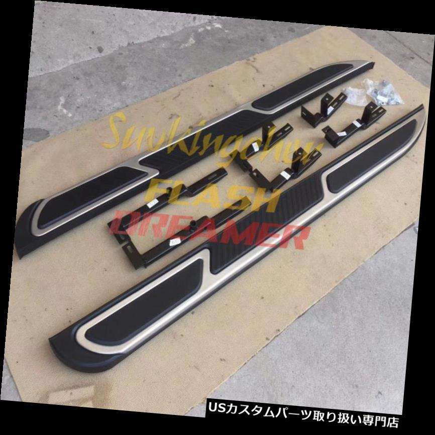 サイドステップ ポルシェカイエンの新しいスタイル2018 2019 18 19ランニングボードサイドステップニューフバー New style for Porsche Cayenne 2018 2019 18 19 running board side step nerf bar