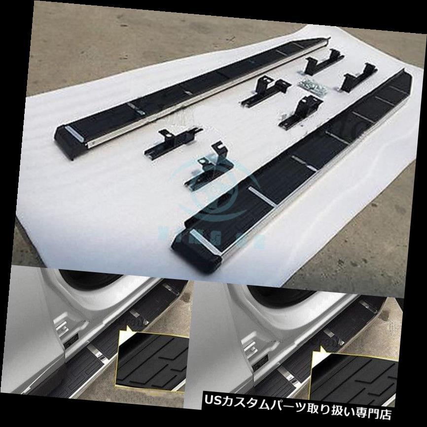 サイドステップ フォルクスワーゲンアトラス2018ステンレススチールランニングボードサイドステップナーフバー用 Fit For Volkswagen Atlas 2018 stainless steel running board side step Nerf bar