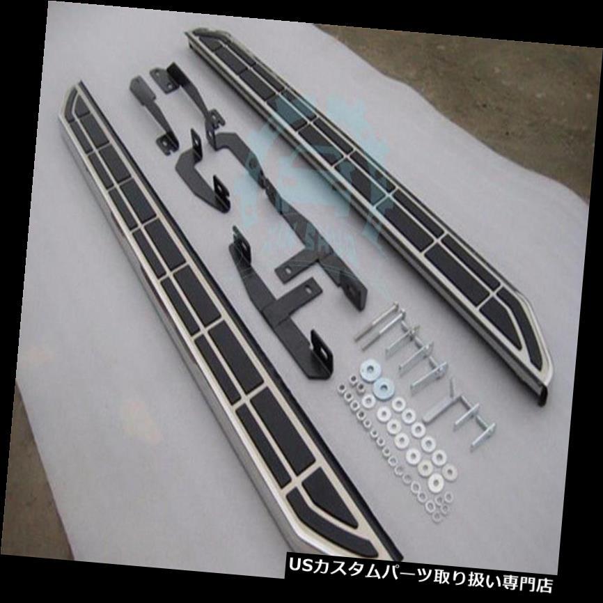 サイドステップ キャデラックSRX 10-2015フットボードのデザインランニングボードサイドステップナーフバー新しい For Cadillac SRX 10-2015 Foot board Design Running Board Side Step Nerf Bars New