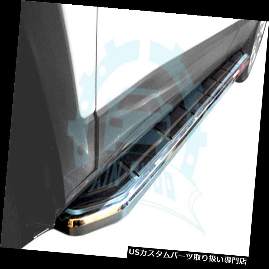 サイドステップ Honda Acura RDX 2012-2017用固定式ランニングボードドアサイドステップNerfバーB for Honda Acura RDX 2012-2017 Fixed Running Boards Door Side Step Nerf Bar B