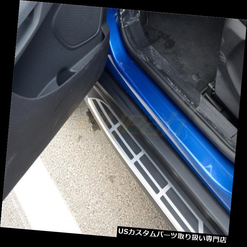 サイドステップ フォードEcoSport 2014-2018ランニングボード用2 PCS Nerfバープラットフォームサイドステップ 2 PCS Nerf Bar Platform Side Step for Ford EcoSport 2014-2018 Running Board