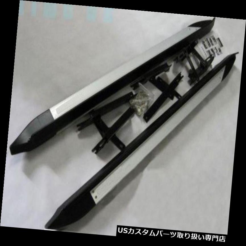 サイドステップ トヨタRAV4 2009 2010 2011 2012ランニングボードサイドステップNerfバー用アルミ aluminium for Toyota RAV4 2009 2010 2011 2012 running board side step Nerf bar