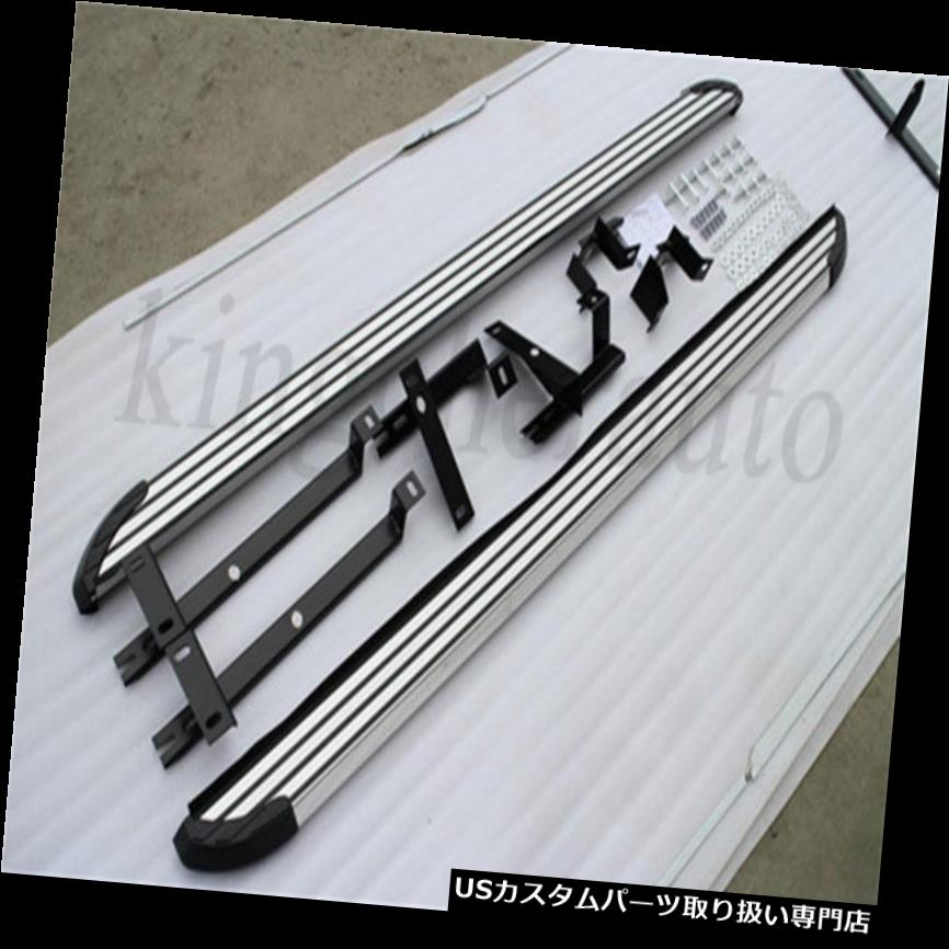 サイドステップ 2個アルミフィットハイランダークルーガー2014-2018サイドステップナーフバーランニングボード 2Pcs aluminum fit Highlander Kluger 2014-2018 side step Nerf bar running board