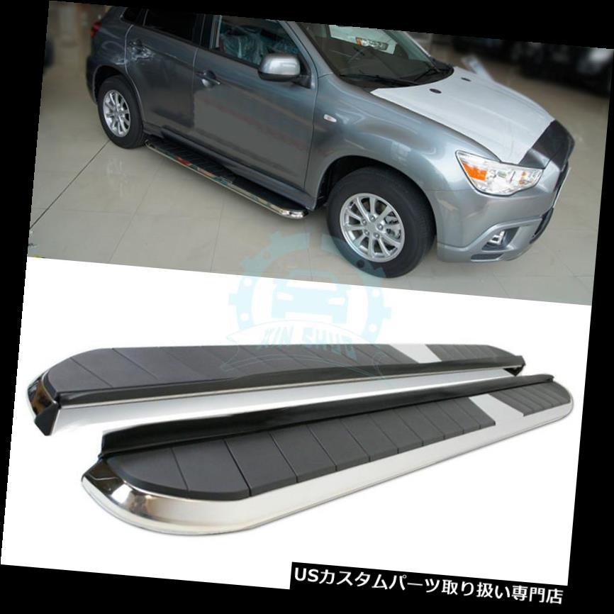 サイドステップ 三菱アウトランダー13+自動フットボードサイドステップサイドボードランニングボード用 For Mitsubishi Outlander 13+ Auto Footboard Side Step Side Board Running Boards