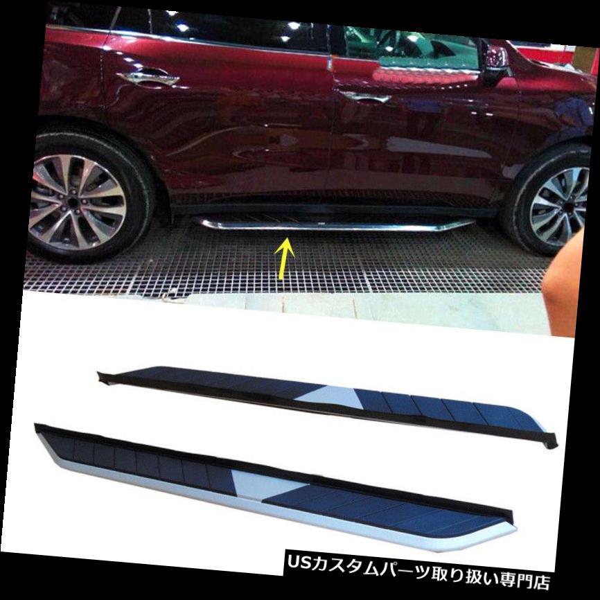 サイドステップ Acura RDX 2014-2016サイドペダルナーフバーステップボードフットボード用ペアフィット A Pair Fit For Acura RDX 2014-2016 Side Pedal Nerf Bars Step Board Foot Board