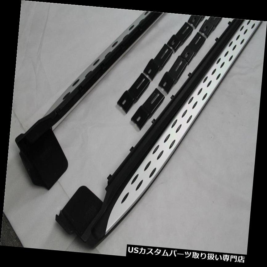 サイドステップ 2ピースサイドステップ用ジープグランドチェロキー2011-16 nerfバーランニングボード 2pcs Side step For JEEP Grand Cherokee 2011-16 nerf bar running board
