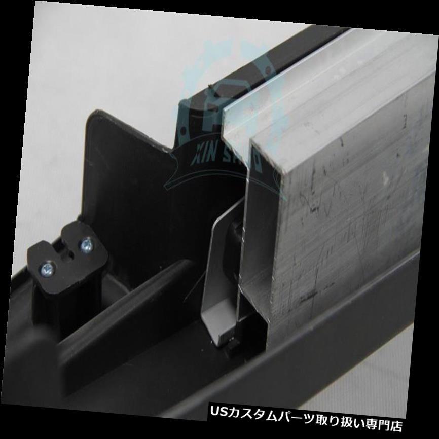 サイドステップ Infiniti JX35 QX60 13-16フィットランニングボードサイドステップナーフバーペダル交換用 For Infiniti JX35 QX60 13-16 Fit Running Board Side Step Nerf Bars Pedal Replace