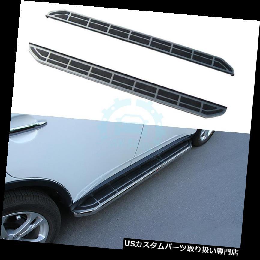 サイドステップ 三菱アウトランダー13-16ステップバーランニングボードNerfバー用サイドステップフィット Side Step Fit For Mitsubishi Outlander 13-16 Step Bars Running Boards Nerf Bar