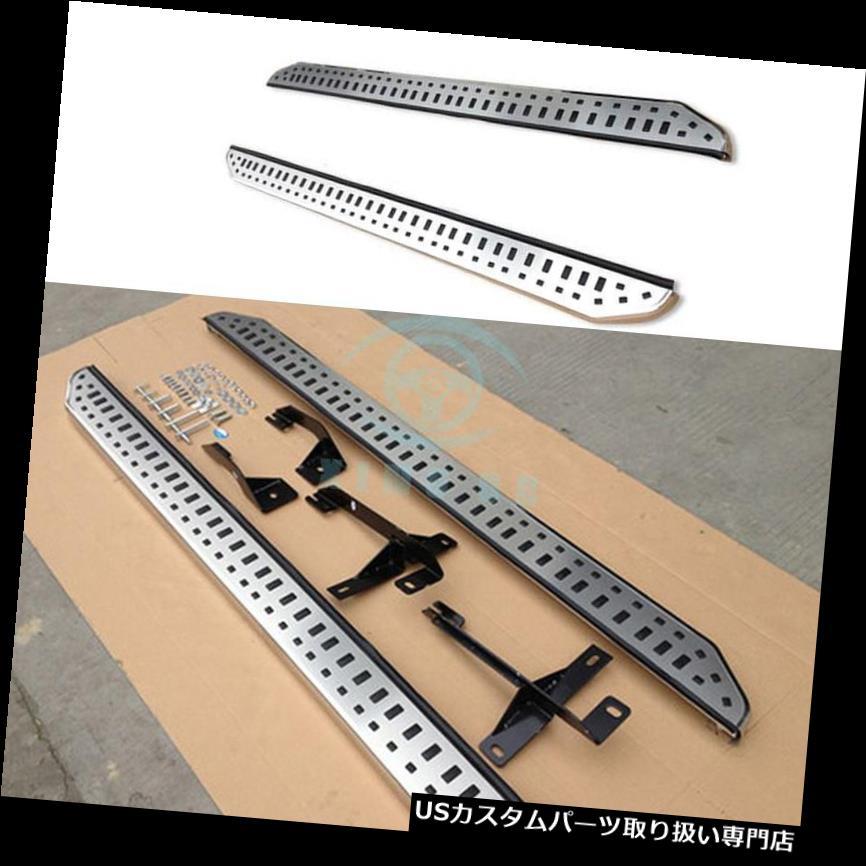 サイドステップ 耐久の使用自動Nerf棒フィート板は三菱ASX 2010-16のための訓練を置きませんでした Durable Use Auto Nerf Bar Foot Board Set No Drilling for Mitsubishi ASX 2010-16