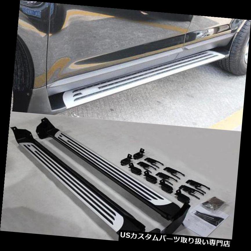 サイドステップ フォードエッジ2011-2014用1セット修正デザインランニングボードサイドステップナフバー For Ford Edge 2011-2014 1Set Modified Design Running Boards Side Step Nerf Bars