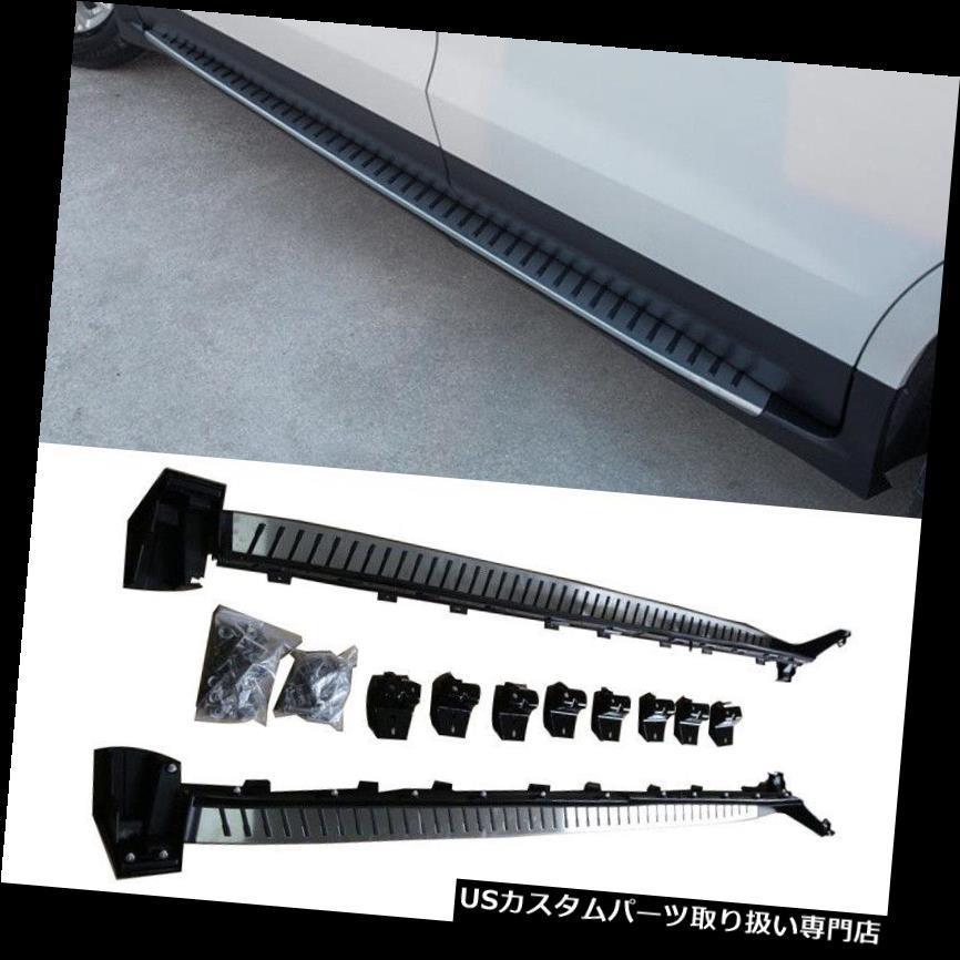 サイドステップ Cadillac XT 5 2016 SUV用部品ランニングボードNerfバーサイドステップ穴あけなし For Cadillac XT5 2016 SUV Parts Running Boards Nerf Bars Side Step No Drilling