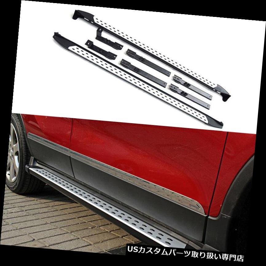 サイドステップ Honda Vezel / HR-V 2015-16アルミ車用ランニングステップボードサイドステップフィッティング For Honda Vezel/HR-V 2015-16 Aluminum Car Running Step Board Side Step Fitting
