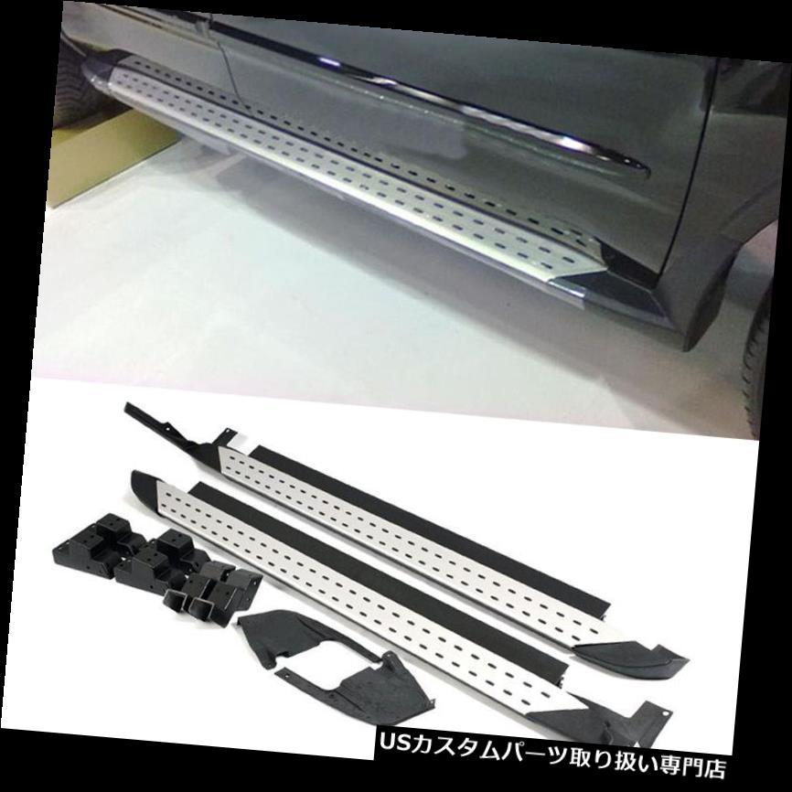 サイドステップ Acura RDX 2007-2009用AセットサイドステップフットボードNerfバーランニングボード FIT For Acura RDX 2007-2009 A Set Side Step Foot Board Nerf Bars Running Boards