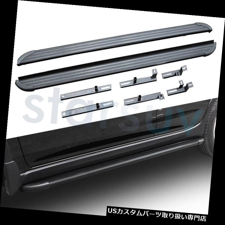 サイドステップ スバルXV 2018ランニングボードNerf Bar 2 PCS用プラットフォームサイドステップ Platform Side Step for Subaru XV 2018 Running Board Nerf Bar 2 PCS